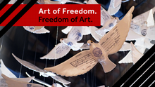 12.2015 Art of Freedom. Freedom of Art. Teaserbild mit Logo