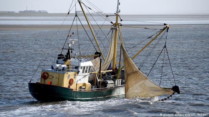 Рыболовецкая шхуна в Северном море