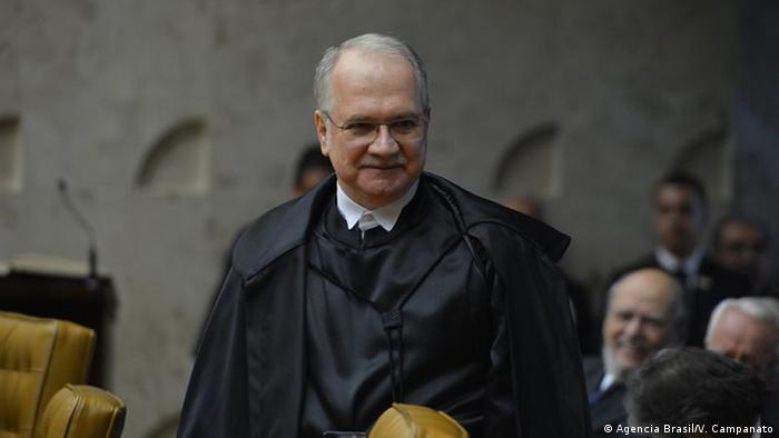 Brasilien Oberstes Bundesgericht - Richter Luis Edson Fachin (Agencia Brasil/V. Campanato)