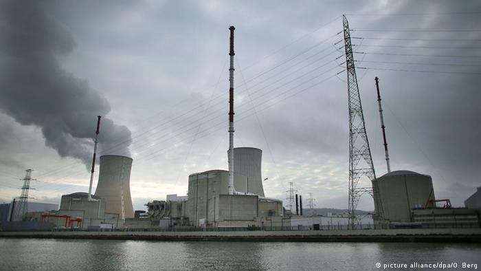 Tihange nuclear reactors