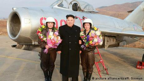 Nordkorea Präsident Kim Jong-un