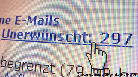 Symbolbild E-Mail Werbung