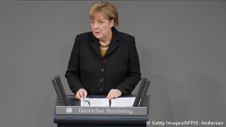Deutschland Merkel Regierungserklärung vor dem EU Gipfel
