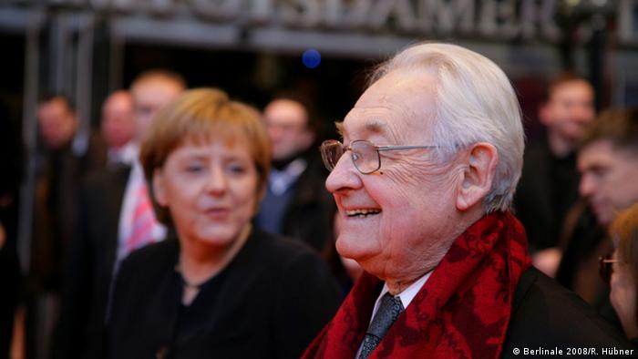 Deutschland, Andrzej Wajda und Angela Merkel