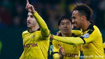 Fußball DFB-Pokal FC Augsburg vs. Borussia Dortmund