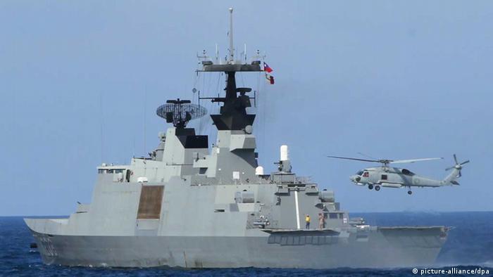Taiwanesische Marine beim Manöver