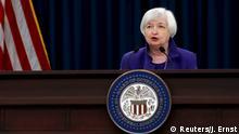 16.12.2015+++ U.S. Federal Reserve Chairman Janet Yellen holds a news conference in Washington December 16, 2015. REUTERS/Jonathan Ernst +++ (C) Reuters/J. Ernst