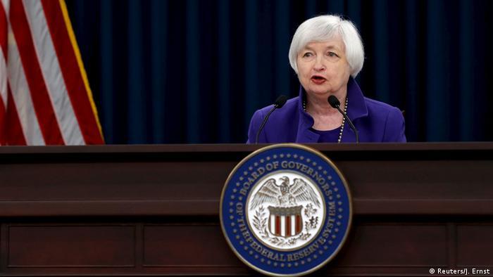 USA FED Pressekonferenz Janet Yellen