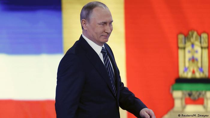 Russland Jahrespressekonferenz Präsident Wladimir Putin