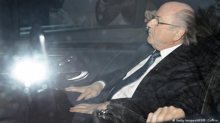 Schweiz suspendierter FIFA-Präsident Sepp Blatter