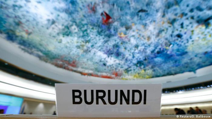 Schweiz UN-Menschenrechtsrat Burundi (Foto: REUTERS/Denis Balibouse)
