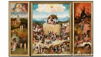 Gemälde De Hooiwagen von Hieronymus Bosch, Copyright: picture-alliance/dpa/Rik Klein Gotink