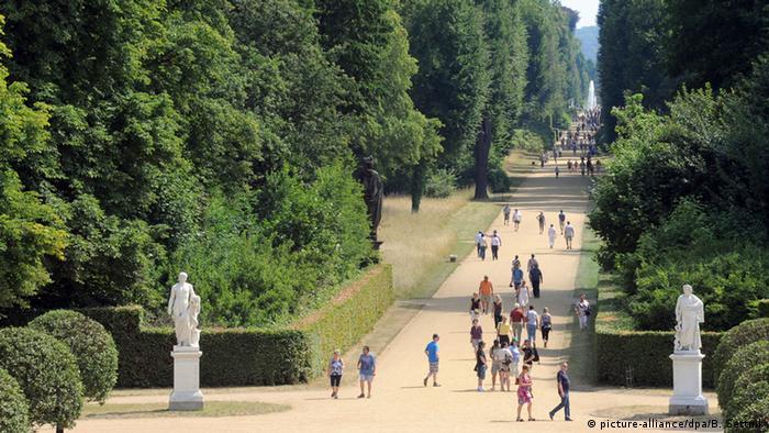 Potsdam Park von Sanssouci