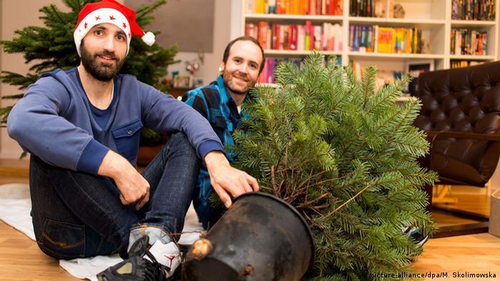 Deutschland Happy Tree Weihnachtsbaumvermietung