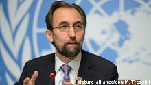 Schweiz UN-Menschenrechtsrat Said Raad al-Hussein