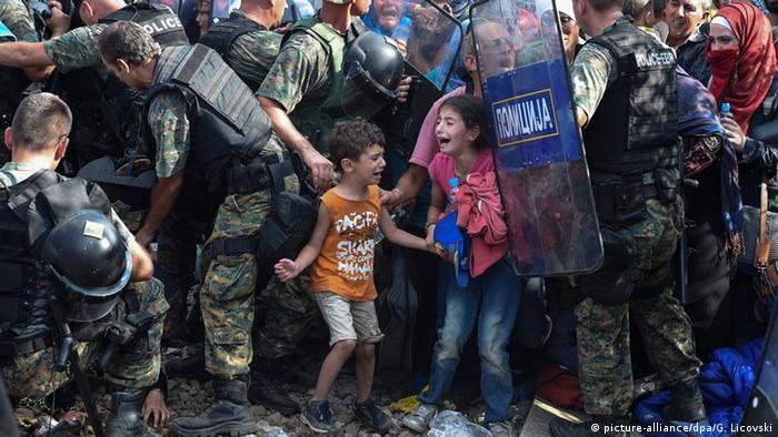 Победитель конкурса ЮНИСЕФ Фото года - снимок фотографа Георгия Ликовского Полное отчаяние