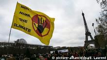 Frankreich Cop21 Klimagipfel in Paris - Protest