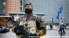 Belgien Brussels Polizei Anti Terror EU Kommission