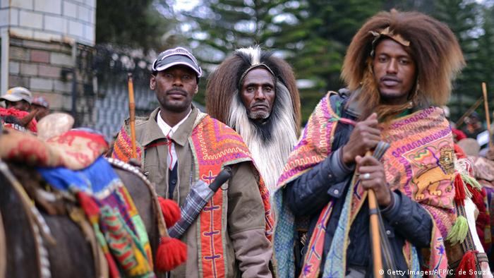Äthiopien Oromo Tracht Getty Images/AFP/C. de Souza