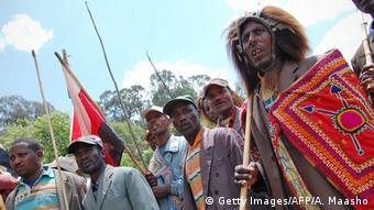 Äthiopien Oromo Tracht (Getty Images/AFP/A. Maasho)