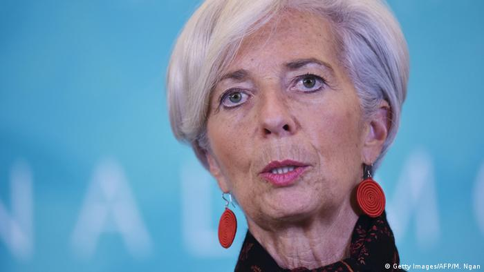 IWF Direktorin Christine Lagarde