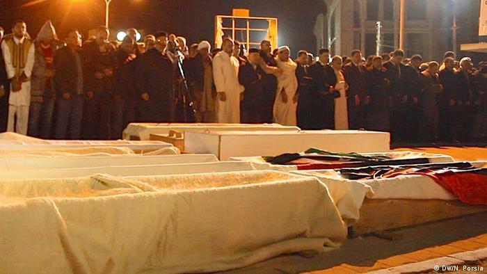 Libyen Beerdigung