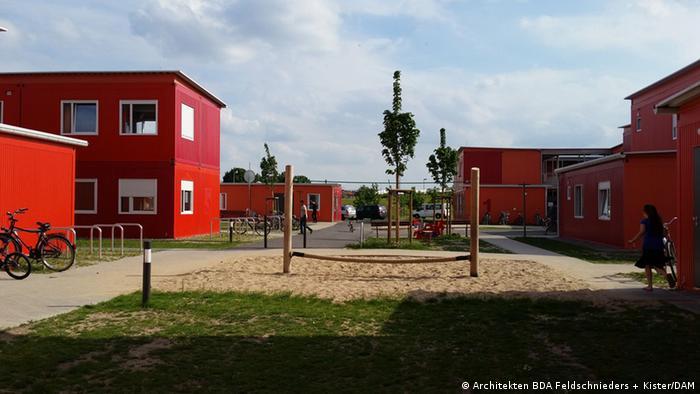 Поселення для біженців на німецький лад