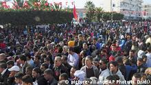 Tunesien Sidi Bouzid Jahrestag Ausschreitungen Arabischer Frühling