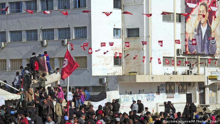 Sidi Bouzid in Tunesien (Archivfoto: AP)