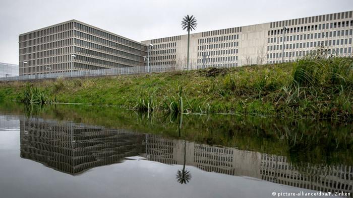 BND-Zentrale in Berlin (Foto: picture-alliance/dpa/P. Zinken)