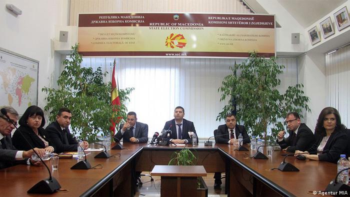 Mazedonien Wahlkommission (DIK)