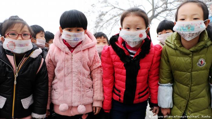 China Kinder in Handan (picture-alliance/Imaginechina/C. Xuehu)