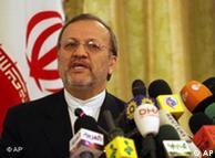منوچهر متکی،  وزیر امورخارجه ایران