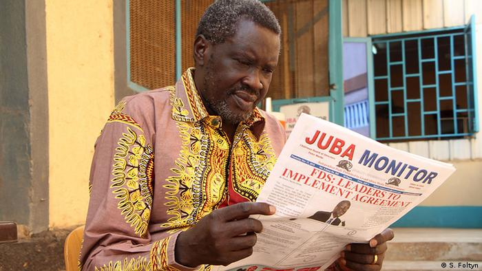 South Sudanese Journalist Alfred Taban