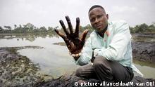 Nigeria Niger-Delta Ölverschmutzung Kläger Eric Dooh