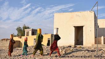 Afghanistan IDP Lager Flüchtlinge Flucht Islamischer Staat