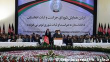Afghanistan Protection and Stability Council in Kabul - Abdul Rasul Sayaf