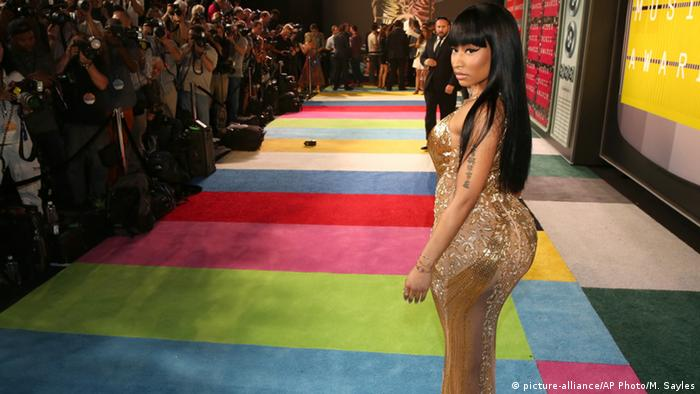 USA MTV Video Music Awards - Nicki Minaj (picture-alliance/AP Photo/M. Sayles)