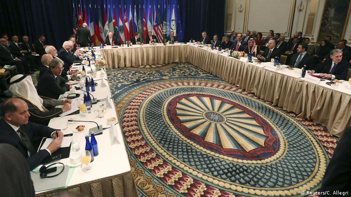 Конференция по Сирии в Нью-Йорке, 18 декабря 2015 года