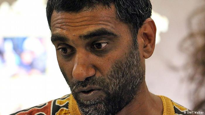 Faces of climate change Kumi Naidoo (DW/T.Walker)