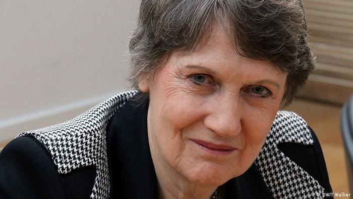 Faces of climate change Helen Clark