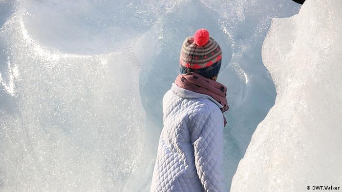 Faces of climate change Olafur Eliasson Skulptur Kind