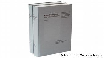 Book cover Hitler, Mein Kampf. A Critical Edition - in German
