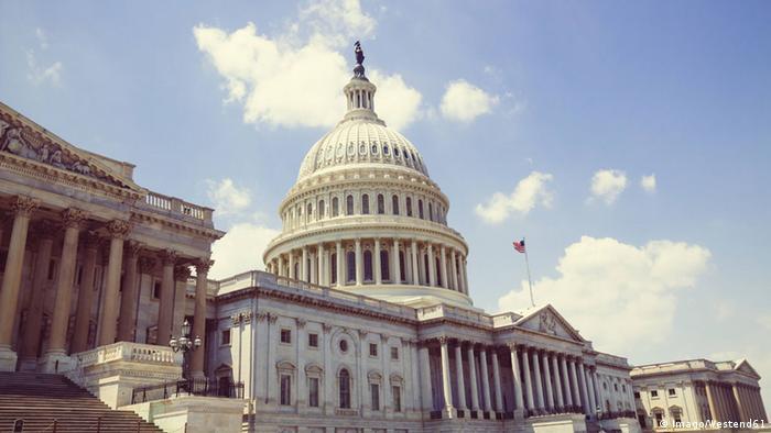 USA Washington Capitol Kongress Außenansicht