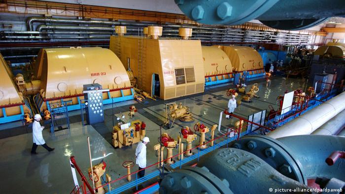 Russland Kernkraftwerk Leningrad in Sosnowi Bor