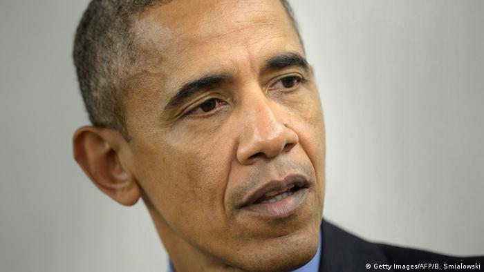 USA San Bernardino Treffen mit Familienangehörigen Obama