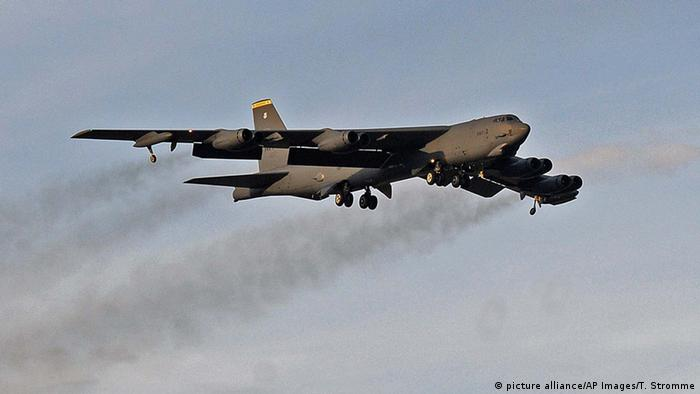 US Air Force B-52 Bomber (picture alliance/AP Images/T. Stromme)