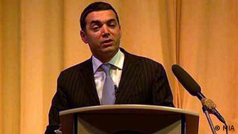Nikola Dimitrov ehemaliger mazedonischer Botschafter