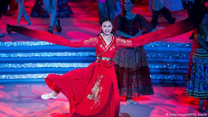 China Schönheitswettbewerb Miss World 2015 Lu Yuan (Getty Images/AFP/J. Eisele)