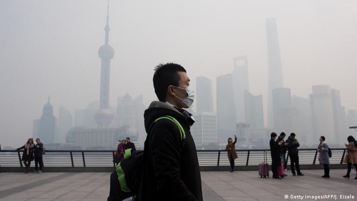 China Shanghai Smog